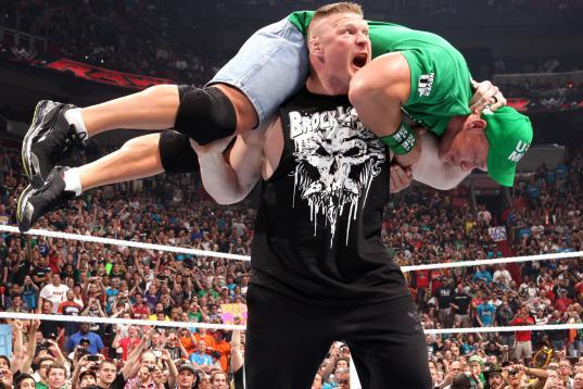 WrestleMania 28: John Cena's Loss to Rock Makes Brock Lesnar Perfect Follow-Up