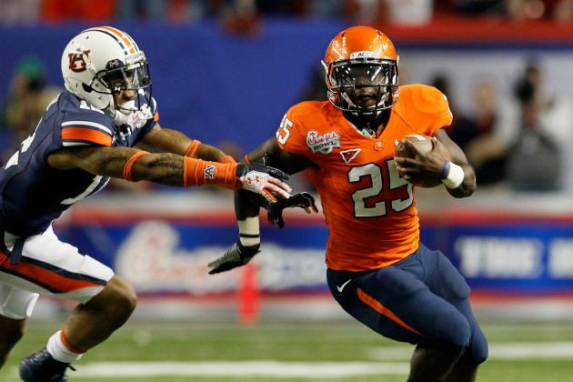 College Football 2012 Top 150 Players: No. 149 Kevin Parks, Virginia RB