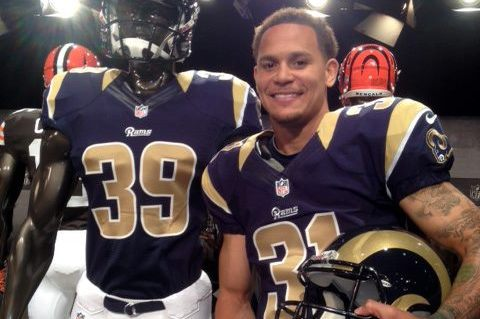 St. Louis Rams New Nike Jersey Unveiled