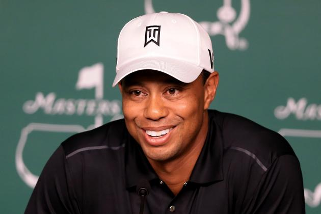 Masters 2012: Power Ranking Tiger Woods and Top Favorites at Augusta