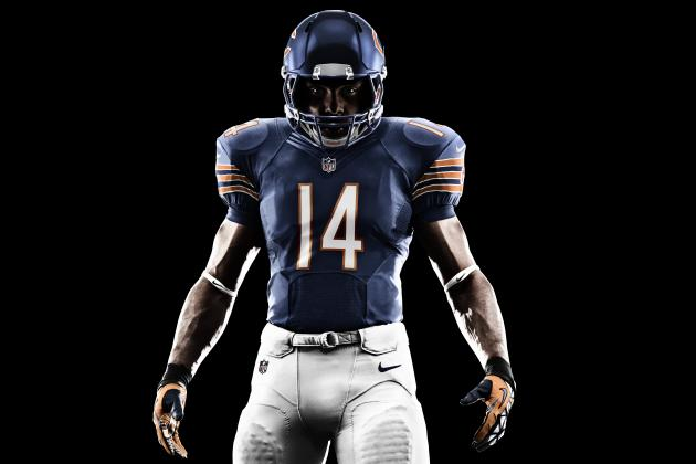 Nike Unveils New Chicago Bears Uniforms, Monsters of the Midway Look Stays