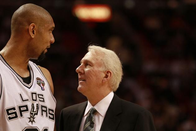 More Important to Spurs' Success: Tim Duncan or Gregg Popovich?
