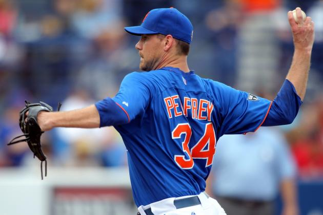 New York Mets Pitcher Mike Pelfrey Gets off the Trade Bait Hook, for Now