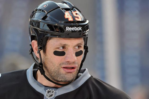 Jody Shelley Makes Michael Rupp Irrelevant in Flyers Game Against Rangers