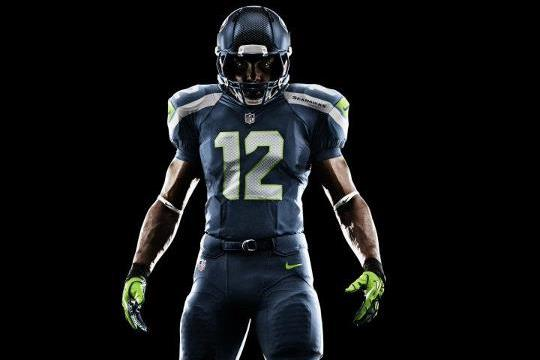 Seahawks New Uniforms: Seattle's Nike Jerseys Represent Future of NFL Unis