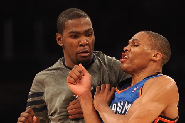 Heat vs. Thunder: Westbrook, Durant Will Dethrone Miami's Dynamic Duo