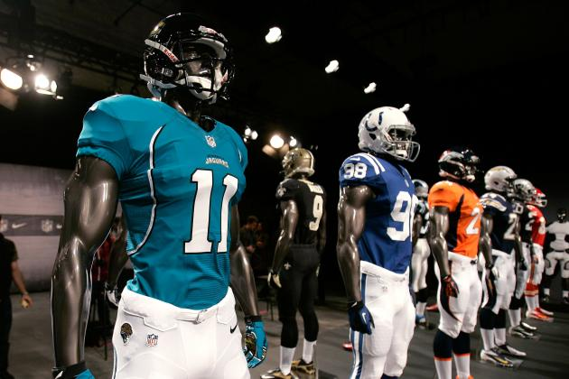 Nike NFL Uniforms Move League into New Era of Financial Dominance