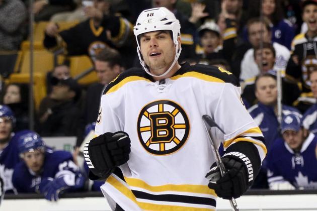 Boston Bruins: Nathan Horton Skates for First Time Since February Setback