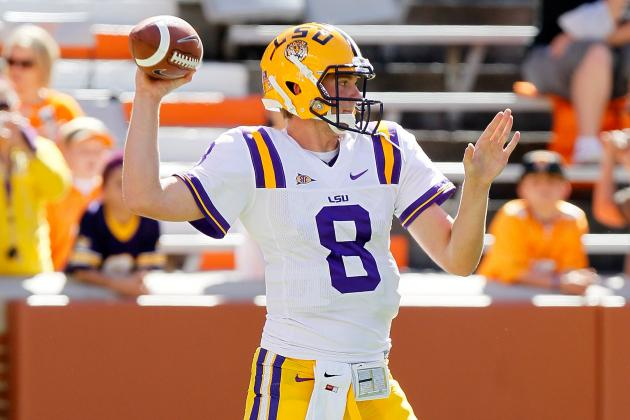 LSU Football: Mettenberger Brings New Life to LSU Offense in 2012