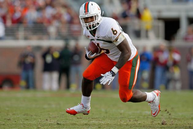 2012 NFL Draft Projections: Second-Round Running Backs with Pro Bowl Potential