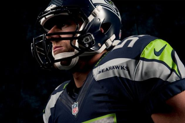 New Nike NFL Unifoms: New Season, New Look for NFL's Seattle Seahawks