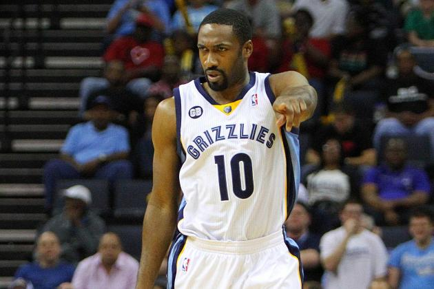Veteran Gilbert Arenas Is Relishing His New Role with the Memphis Grizzlies