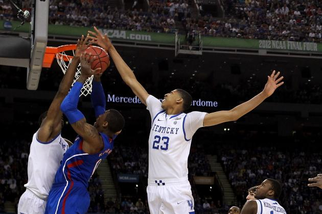Kentucky Wins the 2012 NCAA National Championship: Brow Down to Anthony Davis