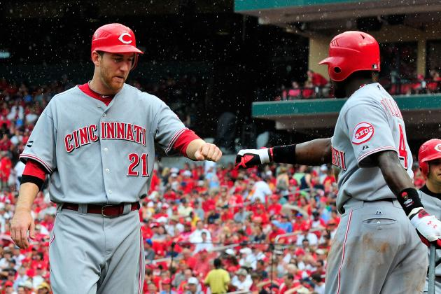 Reds' Todd Frazier Demoted in Favor of Alfredo Simon
