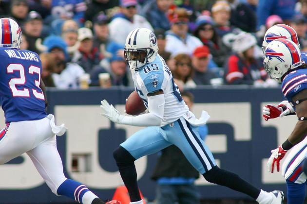 AFC South Rankings: Wide Receivers