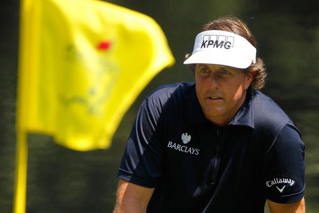 Masters 2012: Phil Mickelson Looking to Join Elite Group with Top Ten Finish