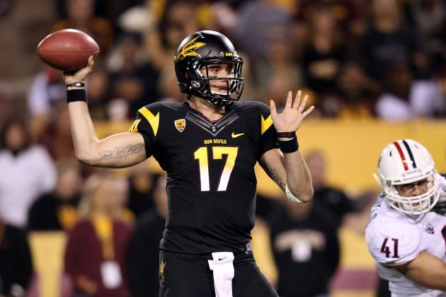 Arizona State QB Brock Osweiler: The Next Big Thing or Just Big?