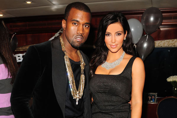 Kanye West Fell in Love with Kim Kardashian and Are Now Dating?