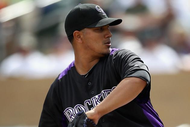 Chacin Struggles in Rox's Cactus League Finale