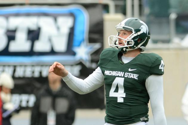 Michigan State Football 2012: Top Kickers on the Depth Chart