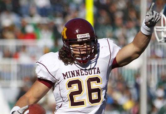 Linebacker Rallis looks to lead Gophers 'D'