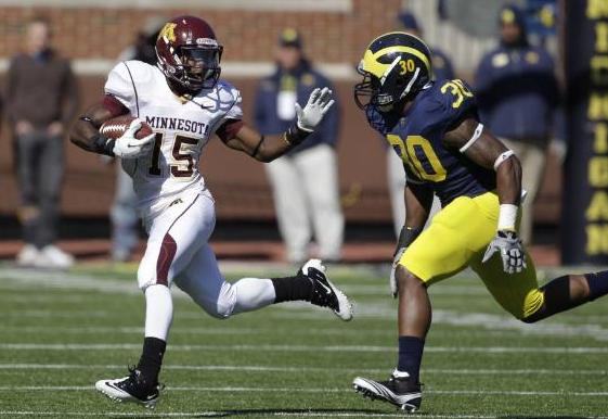 Gophers speedster Jones making quick work of knee rehab