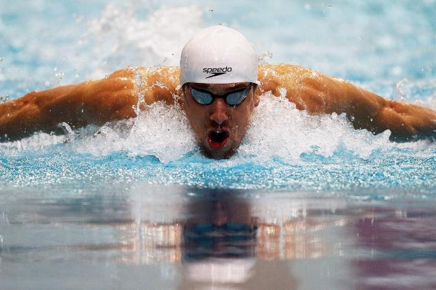 Michael Phelps, Nathan Adrian Set Meet Records at 2012 Indianapolis Grand Prix