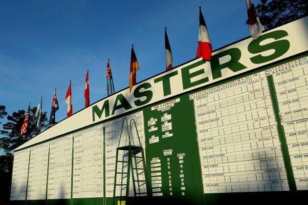 The 2012 Masters and Augusta National: IBM CEO Shows Class