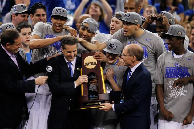 Kentucky Basketball: Can't Get Enough of the Championship Celebration