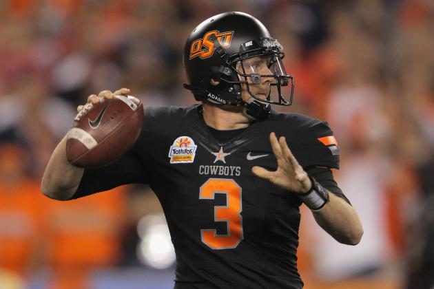 Brandon Weeden to Browns: Video Highlights, Scouting Report and Analysis