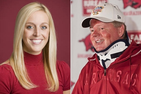 Jessica Dorrell: Arkansas Must Fire Bobby Petrino-Hired Employee