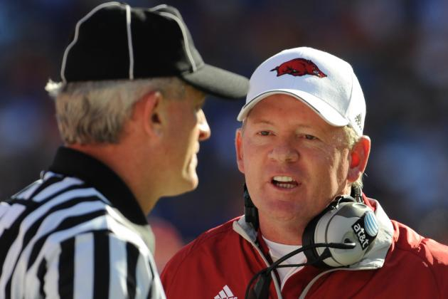 Arkansas Football: Bobby Petrino Scandal Is Too Far Gone to Be Swept Under Rug