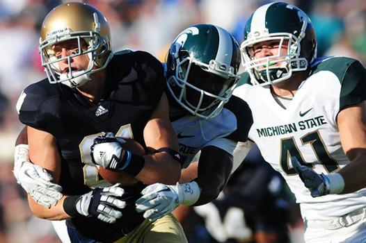 Notre Dame Football: Michael Floyd's Departure Will Open Door for John Goodman
