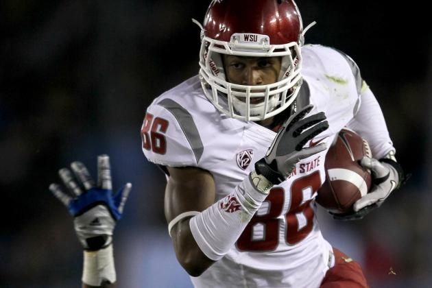 College Football 2012 Top 150 Players: No. 146 Marquess Wilson, Washington St WR
