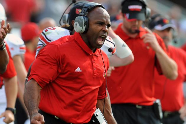 Louisville Football Prepares to Be Big East Front-Runner in 2012