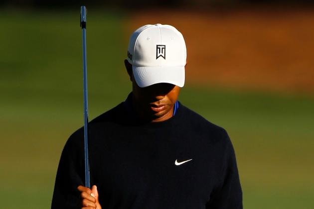 Masters 2012: With Tiger Woods Struggling, Weekend Drama Lacks Biggest Star