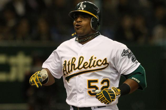 Oakland Athletics 2012: Yoenis Cespedes Will Win AL Rookie of the Year
