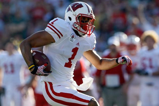 2012 NFL Draft: University of Wisconsin Wide Receiver Nick Toon