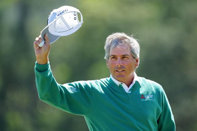 Masters 2012 Pairings: Notable Groupings for Day 3