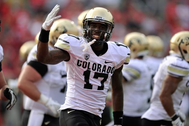 2012 NFL Draft Sleepers: Denver Broncos Should Add CU Prospect WR Toney Clemons