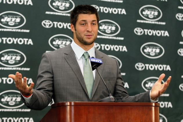 Tim Tebow: New York Jets Shouldn't Limit QB's Endorsements off the Field