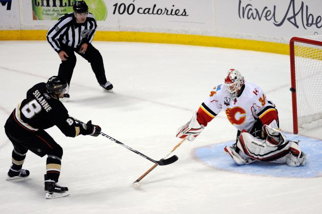 Calgary Flames Close out Season This Afternoon; Is It Teemu Selanne's Last Game?