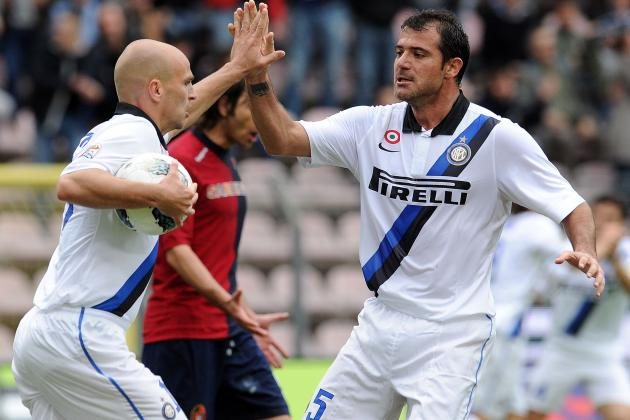 Cagliari 2-2 Inter: Cambiasso Saves
