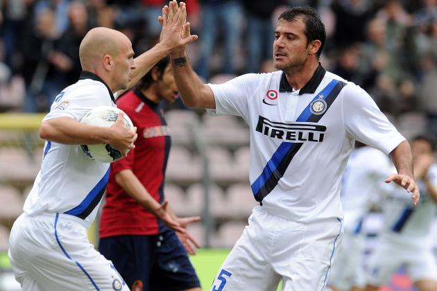 Cagliari 2-2 Inter: Cambiasso Saves