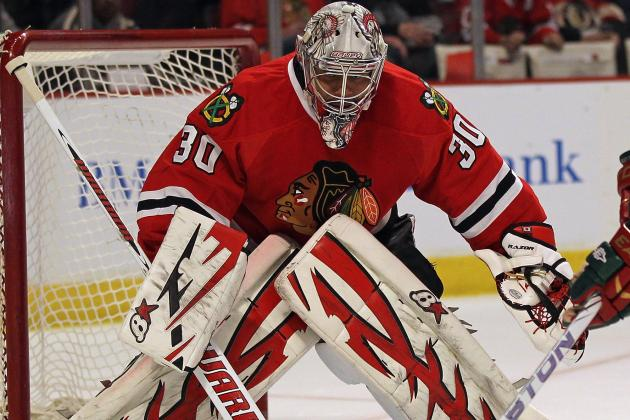 Blackhawks Agree to Terms with Goaltender Emery