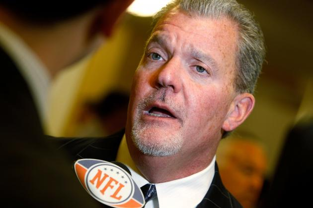 NFL Draft 2012: Jim Irsay's 'Open-Minded' Approach Another Example of Empty Talk