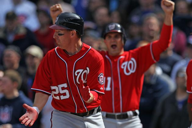 Washington Nationals vs. Chicago Cubs: Nats Win, Play Comeback Kids Again