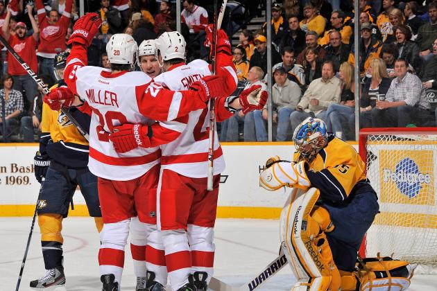 NHL Playoffs 2012: Detroit Red Wings vs. Nashville Predators