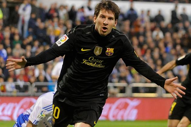 Zaragoza 1-4 Barca: Messi Gets 60th Goal