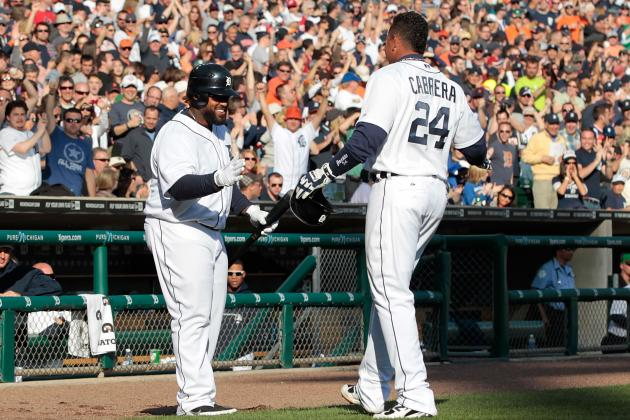 Boston Drubbing Led by Miguel Cabrera and Prince Fielder, Tigers Win 10-0